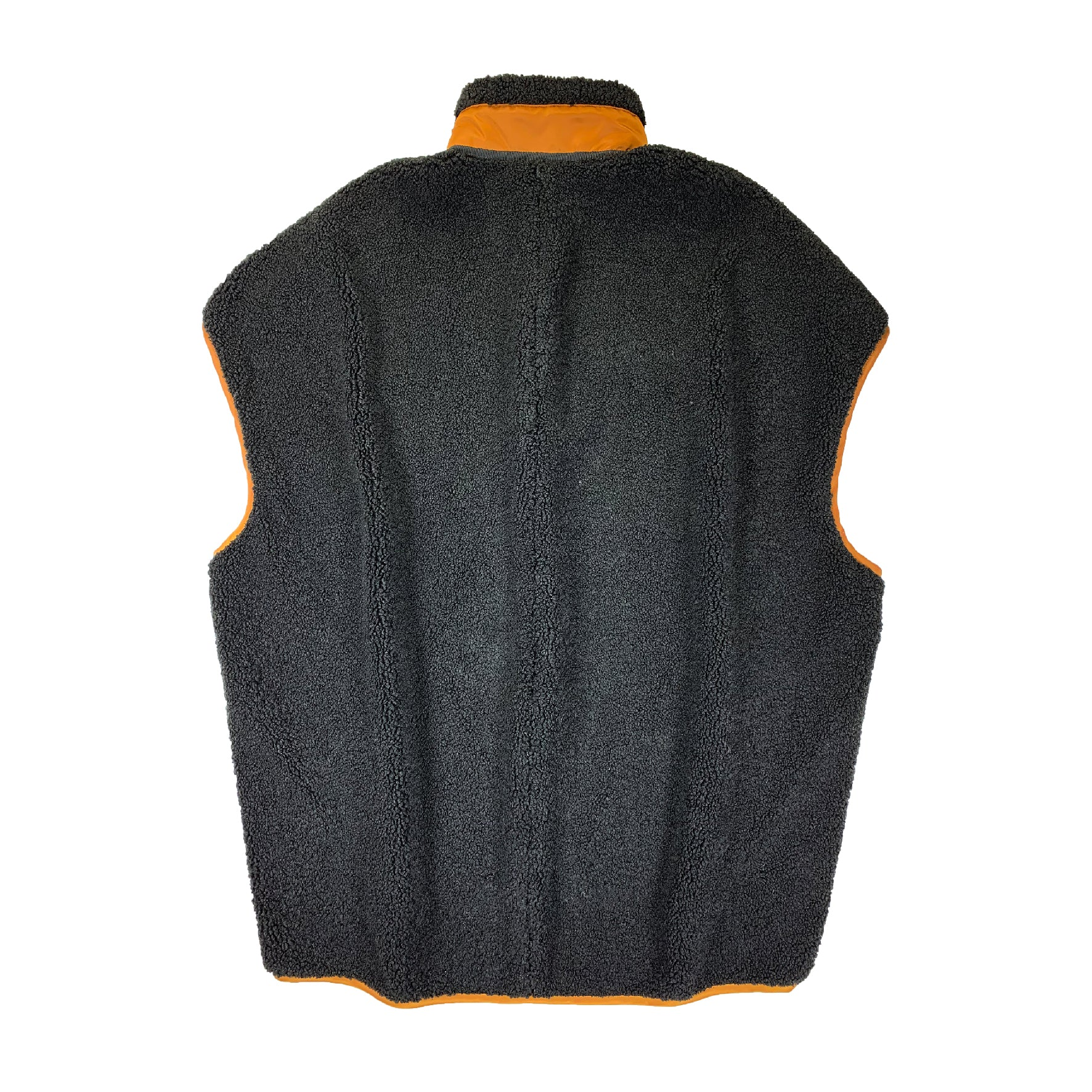 Boa Coccon Zip-Up Vest BLACK