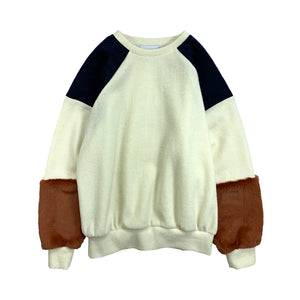 PatchWork PullOver IVORY