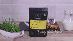Turmeric Latte Blend - Vegan Latte Mix | Vahana Health