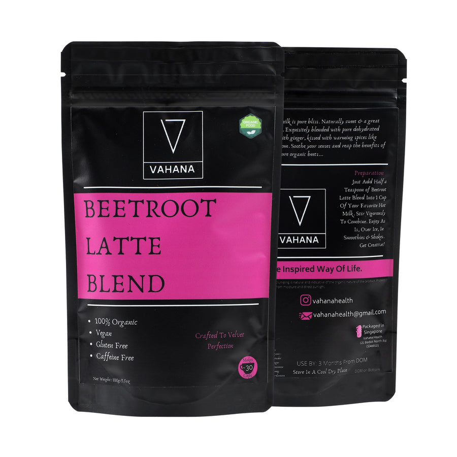 Combo of 2 (Beetroot Latte Blend & Turmeric Hot Chocolate) - Vahana Health