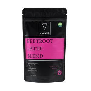 Combo of 3 (Beetroot Latte Blend, Turmeric Hot Chocolate & Latte Blend) - Vahana Health