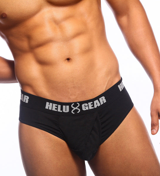Small Brief Black