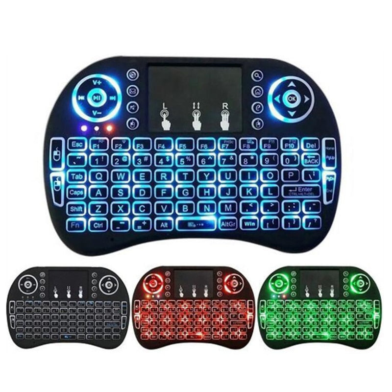 Wireless Color Keyboard Touchpad
