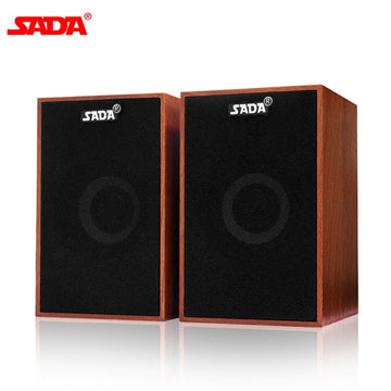 Stereo Wooden PC Speaker