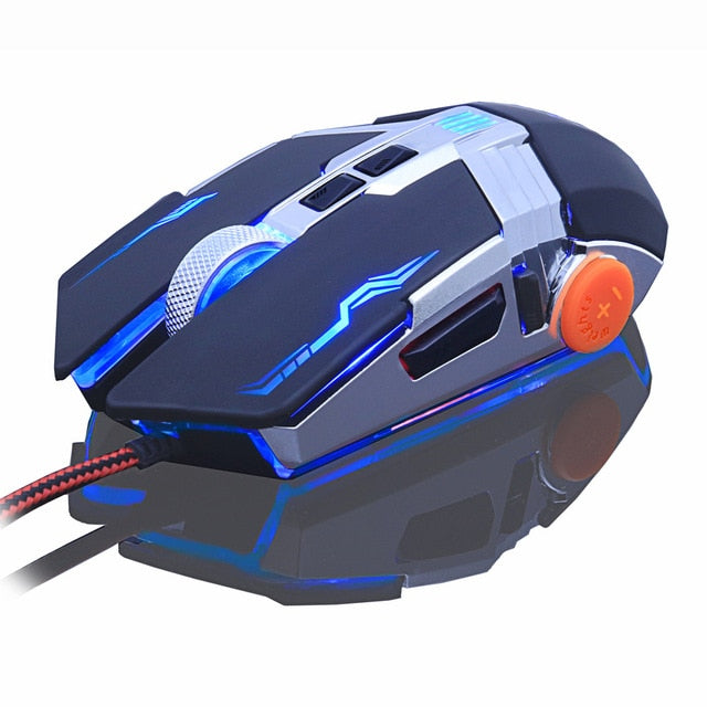 Professional gamer Gaming  Adjustable Wired Optical LED Computer Mouse