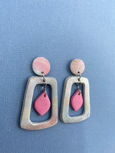 Load image into Gallery viewer, Pastel Skies - Cut Out Statement Earrings