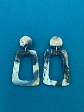 Load image into Gallery viewer, Seaglass Collection - Cut Out Statement Earrings