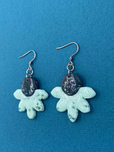 Load image into Gallery viewer, Seaglass Collection - Floral Dangle on Hooks