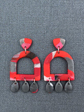 Load image into Gallery viewer, Light the Fire - Cut Out Arches Statement Earrings