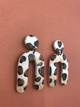 Load image into Gallery viewer, Wildside Animal Print - Arch Statement Earring