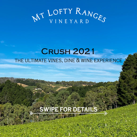 Crush 2021 - The ultimate vines, dine & wine experience