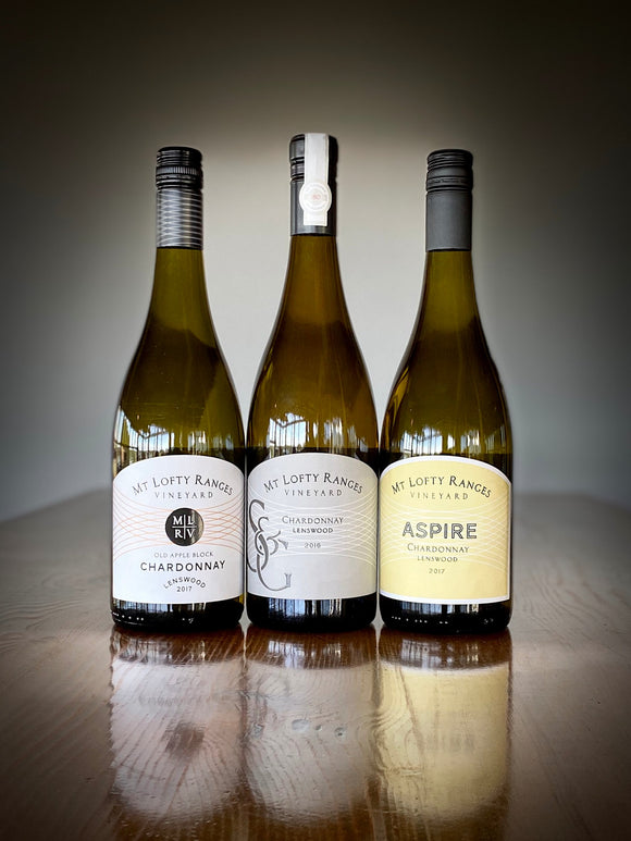 Chardonnay Day - Old Apple Block, Aspire and S&G - $139 (rrp $172)