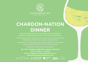 Chardon-Nation Dinner: 5 Course degustation