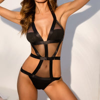 Strappy Nights Sexy Lace Bodysuit Lingerie