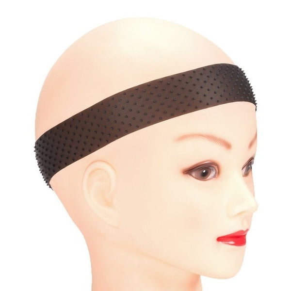 Transparent Silicone Lace Front Wig Secure Headband