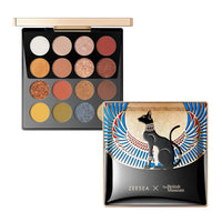 ZEESEA New 16 Colors Egypt тени Eyeshadow Palette Matte Shiny Waterproof  Holographic Makeup wholesale Palette косметика
