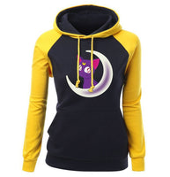 2021 Winter Fleece Sailor Moon Hoodie Sweatshirts