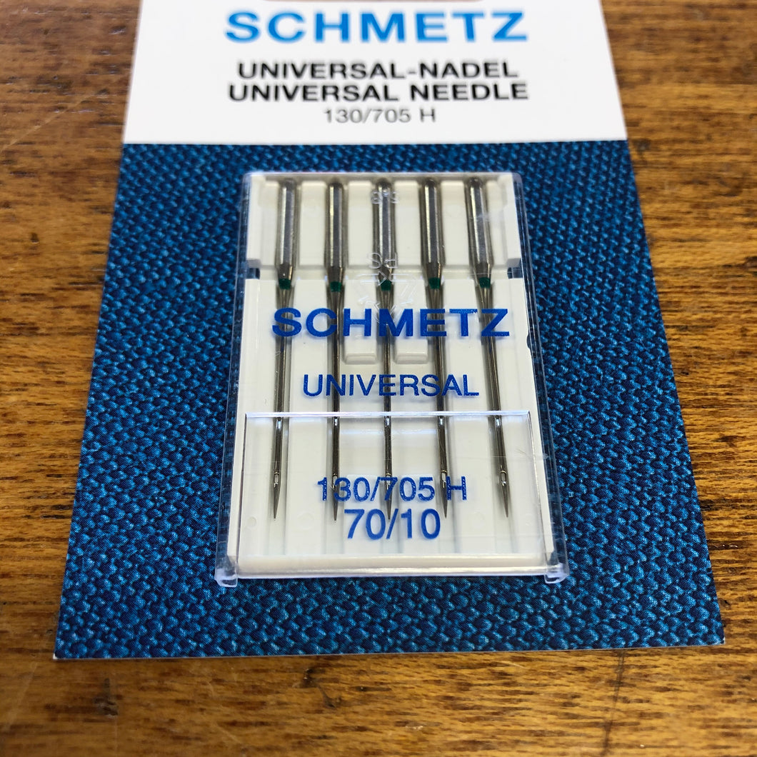 Schmetz Sewing Machine Needles - Universal - 70/10