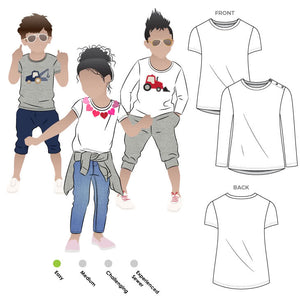 Billie Kids Tee by StyleArc