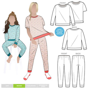 Children's PJ Set by StyleArc