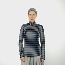 Load image into Gallery viewer, Glacial Tee/Skivvy by Pattern Fantastique