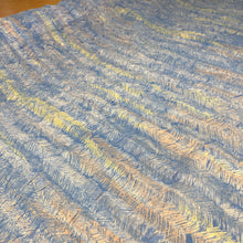Load image into Gallery viewer, Feathering - Blue - Remnant 160cm x 108cm