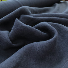 Load image into Gallery viewer, Boulevarde Washed Linen - Navy