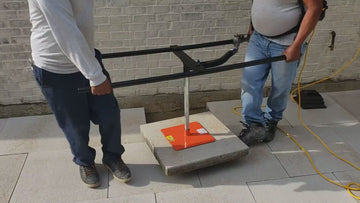 "Backpack Paver Placer Vacuum - ""H"" Handle Backpack Vacuum"