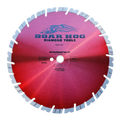 "Boar Hog 12"" x .125 General Purpose Blade - Super Red - 1""-20mm arbor"