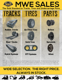 MWE Tracks, Tires and Undercarriage Parts
