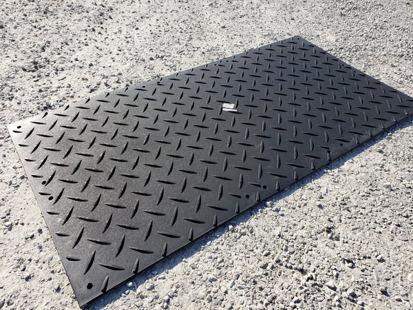 AlturnaMATS 2' x 8′ Black Mat, Cleats Both Sides