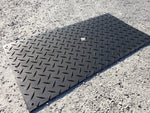 AlturnaMATS 3' x 8′ Black Mat, Cleats Both Sides