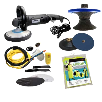 Alpha Pro Tools Pool Coping Polishing Kit