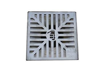 Quick-E-Adjustable Patio Drain