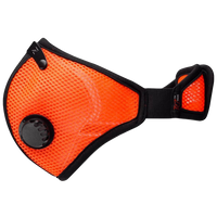 RZ Dust Mask M2 - Mesh Safety Orange - Large