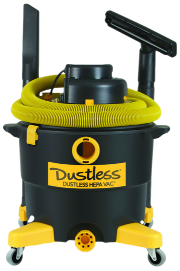 Dustless Technologies HEPA Wet+Dry Vacuum - 16 Gal.