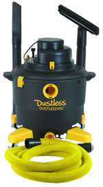 Dustless Technologies Wet+Dry Vacuum - 16 Gal.
