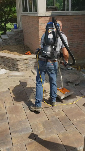 "Backpack Paver Placer Vacuum - ""T"" Handle Backpack Vacuum"