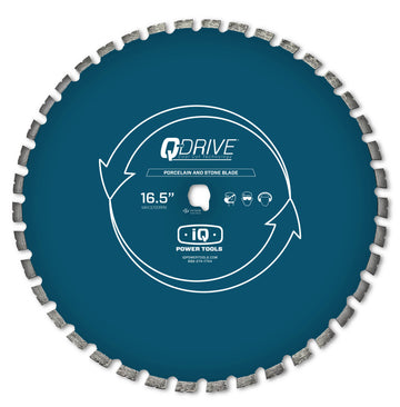 "iQ 16.5"" Q-Drive Arrayed Segmented Porcelain Tile Blade for iQMS362"