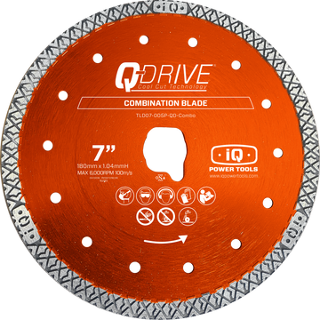 iQ 7″ Q-Drive Combination Blade for iQ228CYCLONE - PRE-ORDER NOW*