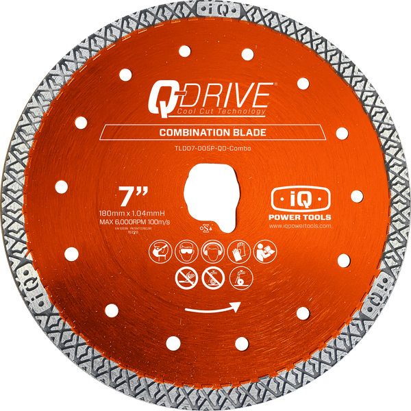 iQ 7″ Q-Drive Combination Blade for iQ228CYCLONE - COMING SPRING 2021*