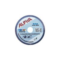 "Alpha Pro Tools 4 1/2"" Q-Cut Blade- 7/8""-20mm Arbor"
