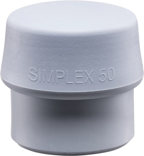 Replacement Head for Simplex 60 Mallet - Gray Rubber, Non-Marring