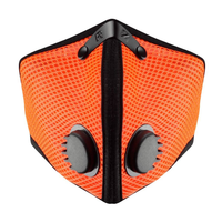 RZ Dust Mask M2 - Mesh Safety Orange - X Large