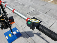 Red Hook Grip Hog Lifter Battery Operated with BIG FOOT for excavator