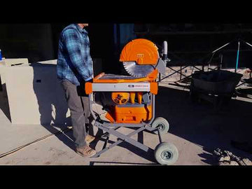 "iQMS362 Dust Capturing 16.5"" Masonry Saw - FREE DELIVERY*"