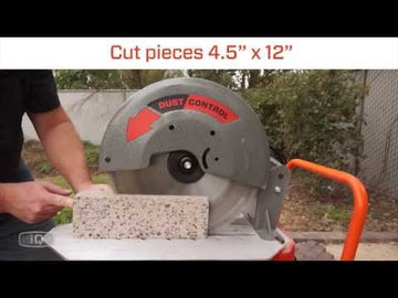 "iQ360XT Dust Capturing 14"" Masonry Saw - FREE DELIVERY*"