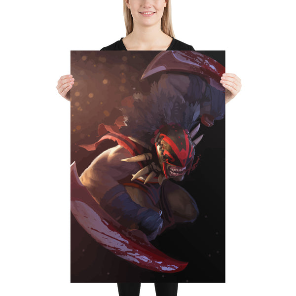 Blood Seeker A - Dota 2 - Unframed Game Poster