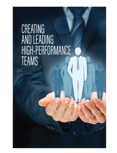 Creating and Leading High-Performance Teams | E-book