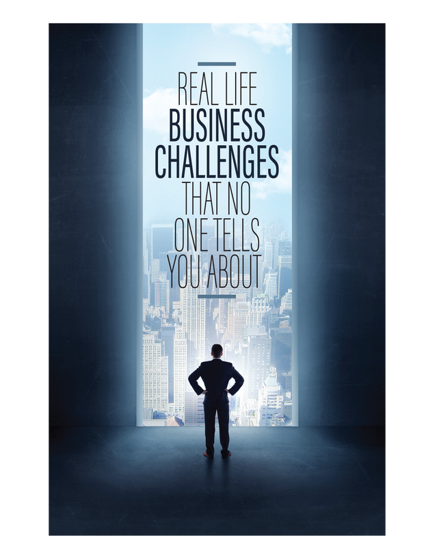 Real Life Business Challenges That No One Tells You About | E-book